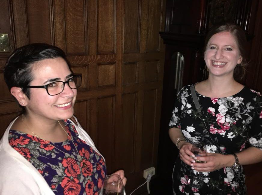 Megan Hartmann, Julie Buckingham. Rebuilding Together North Jersey's 20th anniversary celebration honoring the junior league and boiling springs bank at the Hamilton club in Paterson. 09/27/2018