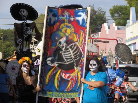 The Dia de los Muertos parade is always a favorite part of this Silver City commemorative event.