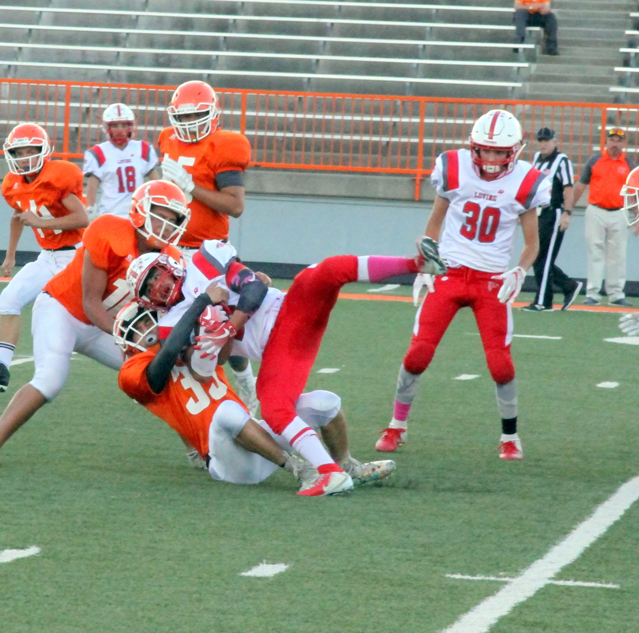 Artesia JV airs it out for big win against Loving Falcons