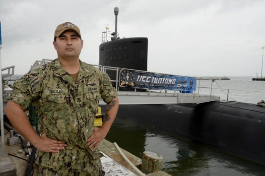 Petty Officer First Class Tino Trujillo