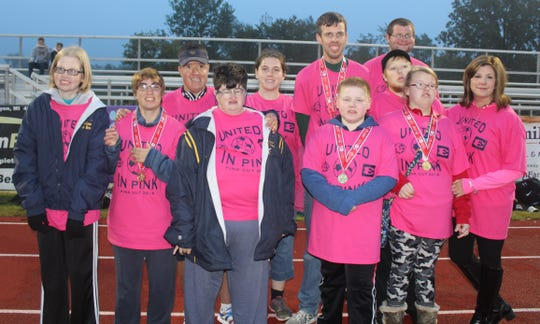 The South Lyon Special Stars co-ed soccer team captured the gold medal at the recent Fall State Games for Special Olympics held at Independence Park in Canton.
