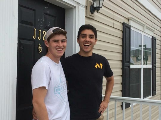 Bryan Caragay and Dylan McCormack have been friends since preschool.