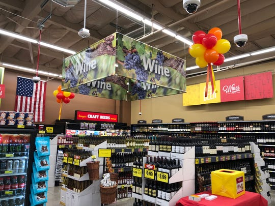 A newly-opened Grocery Outlet Bargain Market in South Hayward on October 4, 2018.