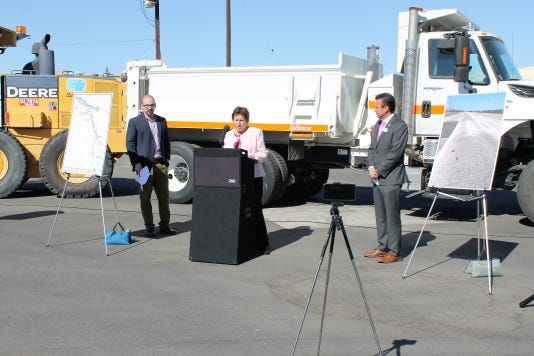 Press Conference Caltrans