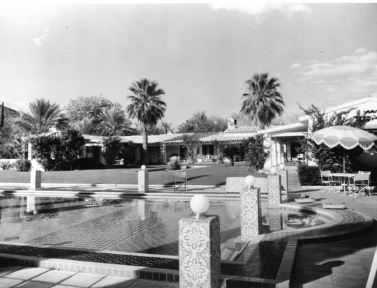 Liz Taylor and Mike Todd house in Old Las Palmas