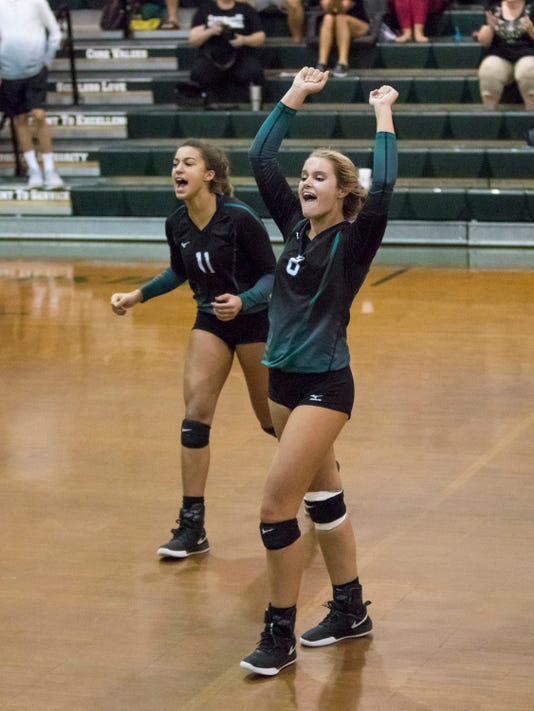 Mosley Vs Catholic Volleyball