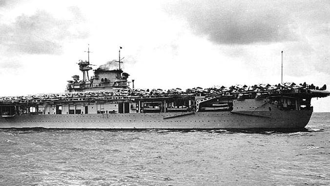 The USS Enterprise (CV-6) in route to Pearl Harbor on Oct. 8, 1939.