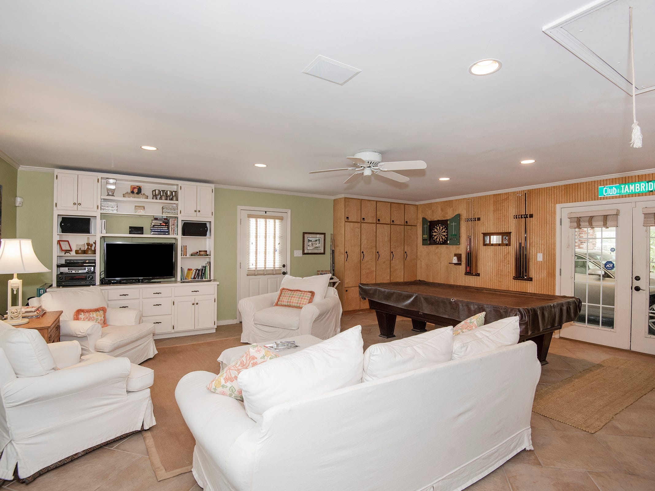 2625 Tambridge Circle, the additional living space is a perfect game room.