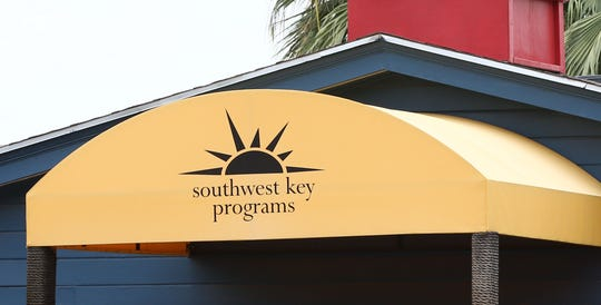A Southwest Key Program facility near 14th Street and Thomas Road is seen July 10, 2018, in Phoenix. A spokesman said Oct. 5, 2018, that another Southwest Key facility, Hacienda Del Sol in Youngtown, was shuttered following an unspecified incident. Southwest Key reported the incident to local law enforcement, the federal government, and state regulators.