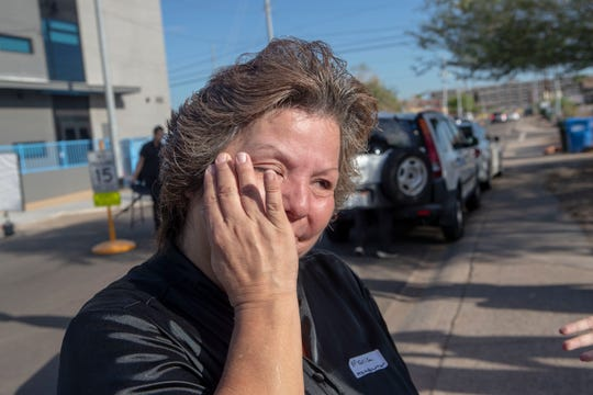 """Like Maria Vargas, many of her neighbors have also lived in the community for generations. She said she's thankful not only for the work on her 102-year-old home, but for Habitat for Humanity's commitment to lift up the entire neighborhood.""""It just livens up the whole neighborhood andjust makes it look so beautiful again,"""" she said."""