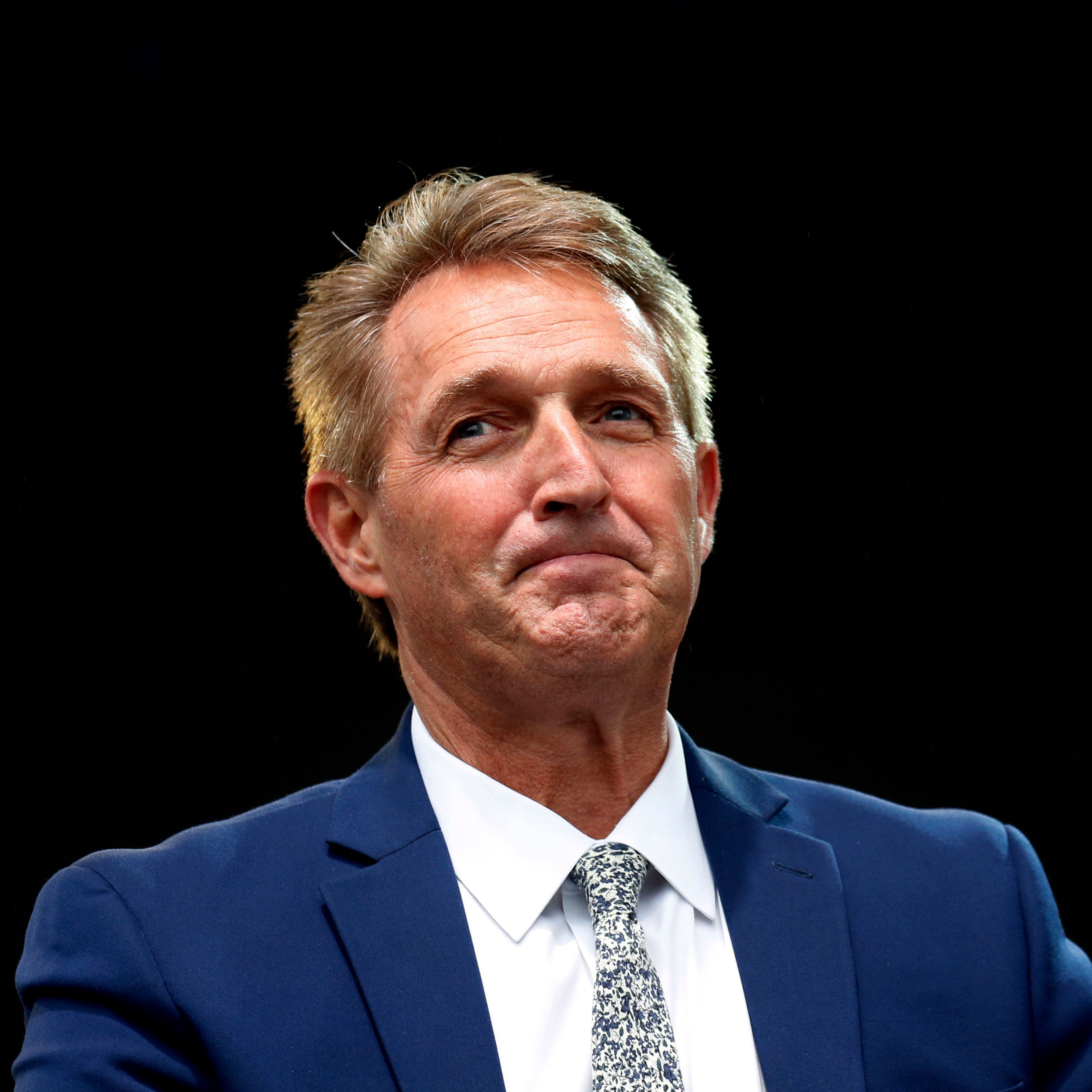 Former Sen. Jeff Flake discloses new details about threats to him and his family