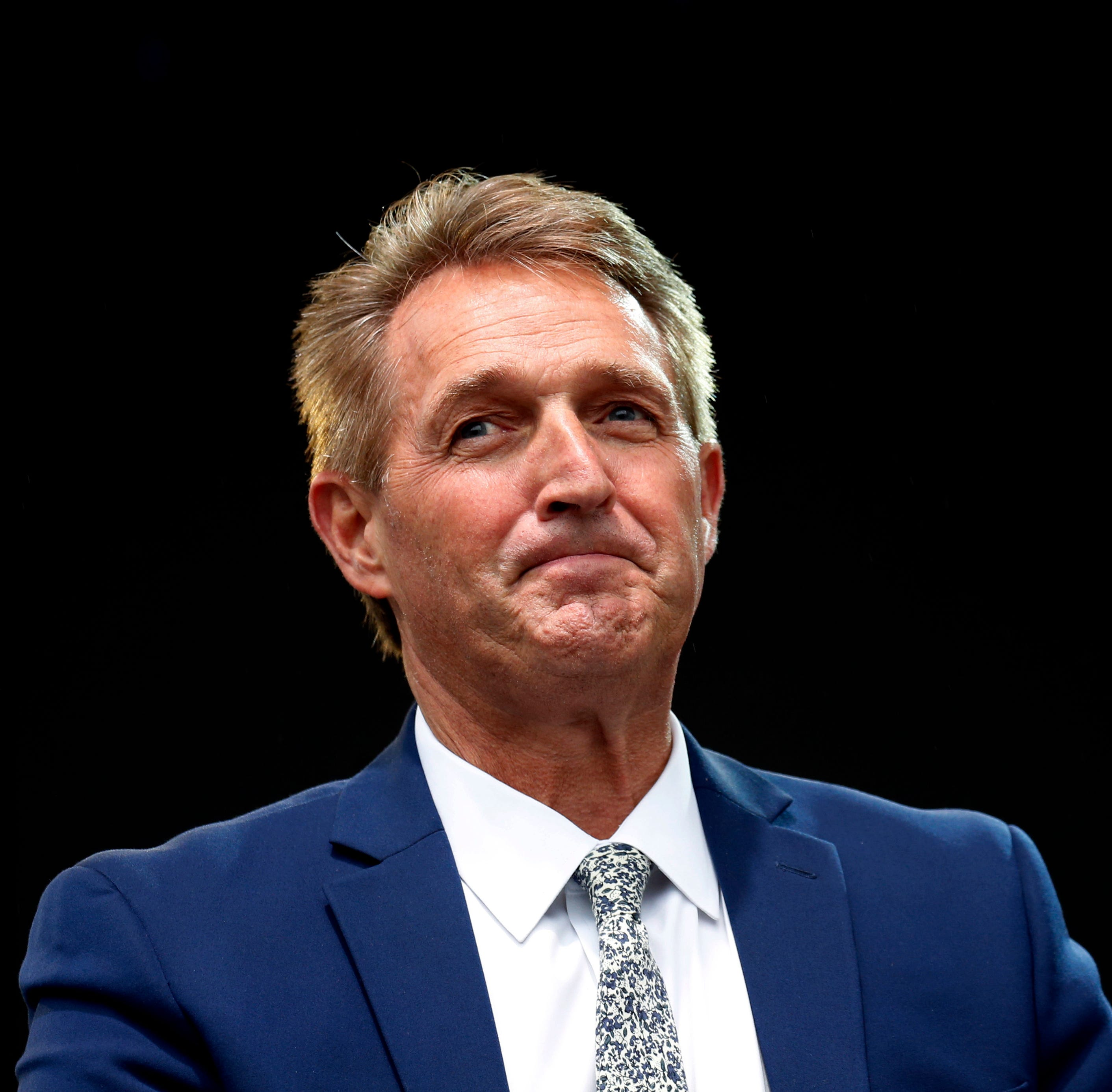 Jeff Flake won't challenge Donald Trump. What a shame