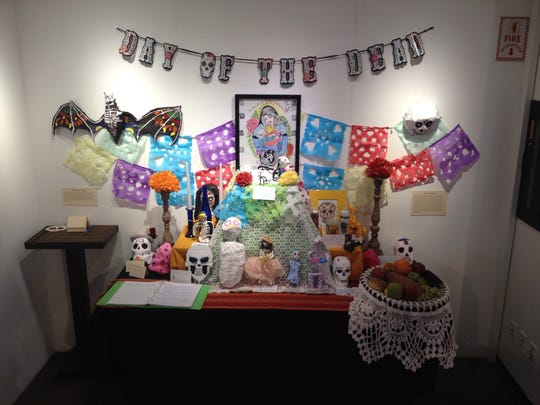 An ofrenda from the Desert Caballeros Western Museum event last year.