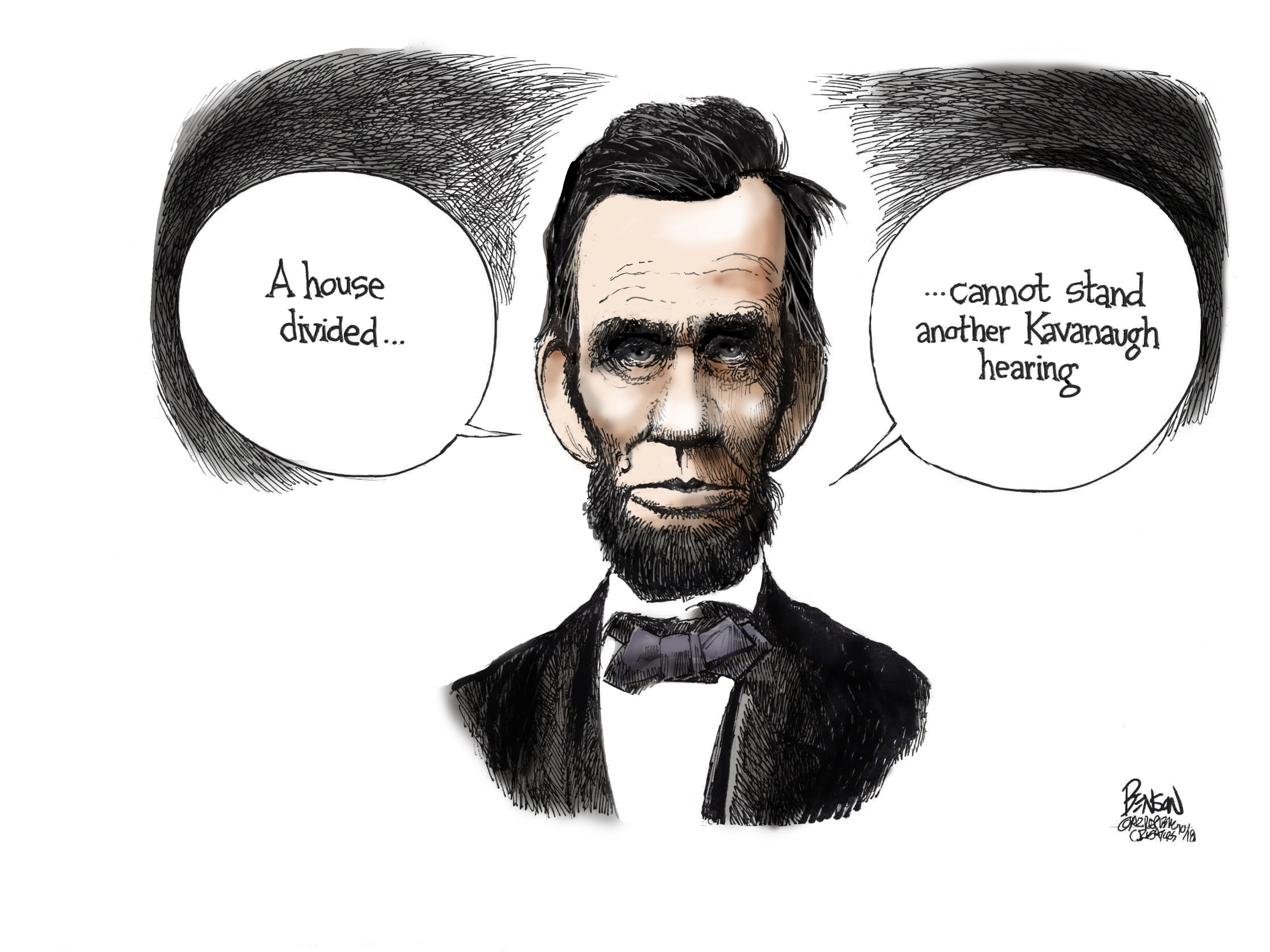 Cartoon for Oct. 5, 2018.