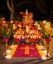 Dia De Los Muertos festivities at Tlaquepaque.