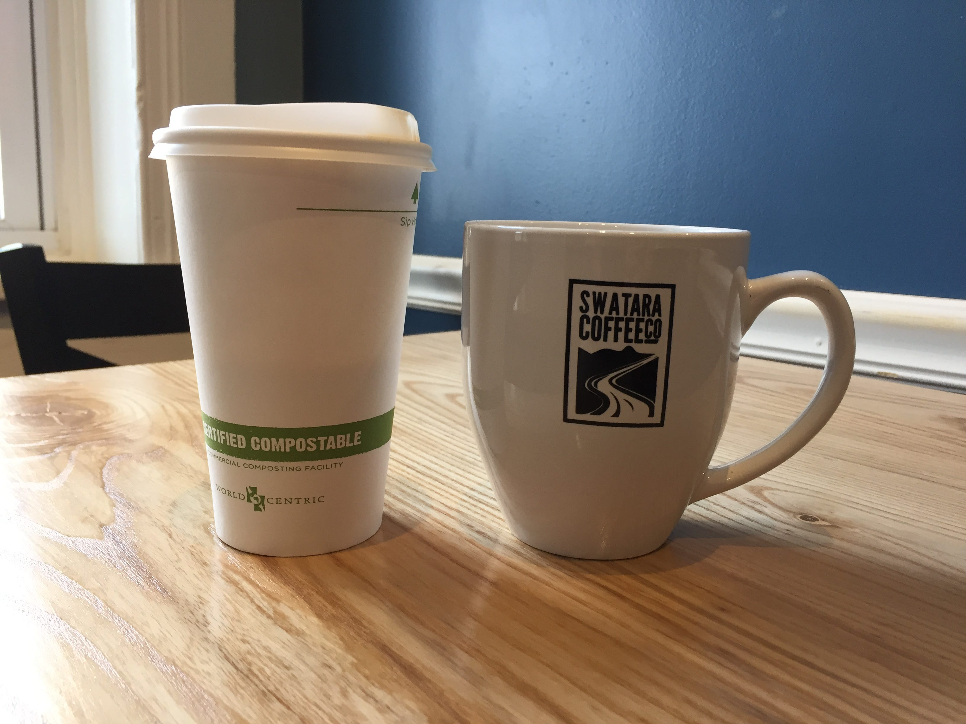 As usual, Swatara pulls out all the stops. In addition to pumpkin spice latte, they have hot apple cider, blackberry mocha and cinnamon dulce de leche for the duration of the fall season.