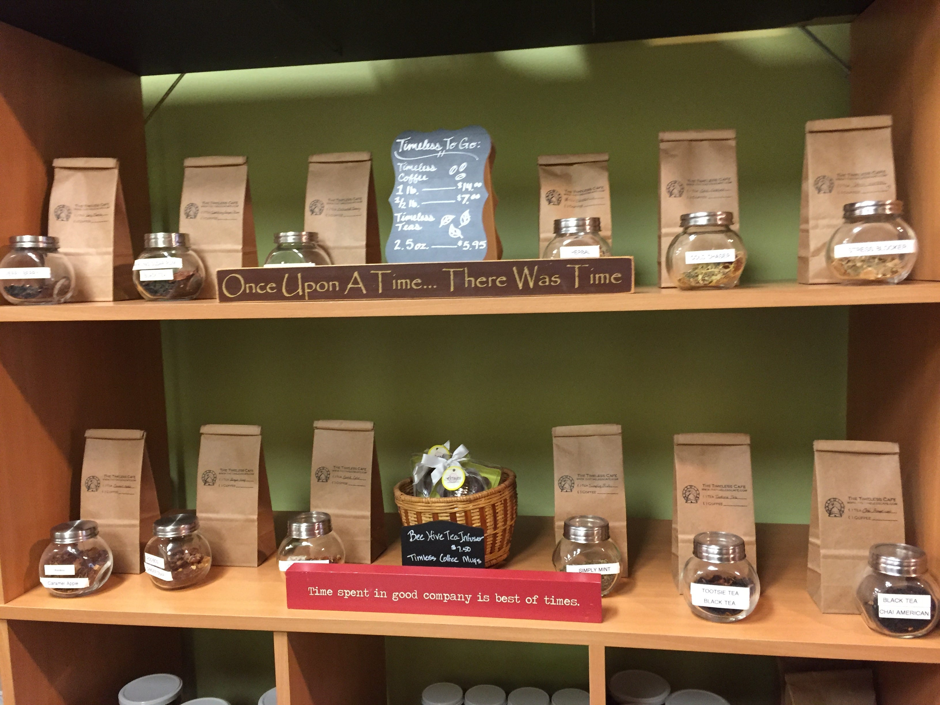 Of course Timeless is on the pumpkin spice latte and pumpkin coffee train, but the cozy, downtown establishment also offers a selection of seasonal teas that is unmatched in Lebanon County.