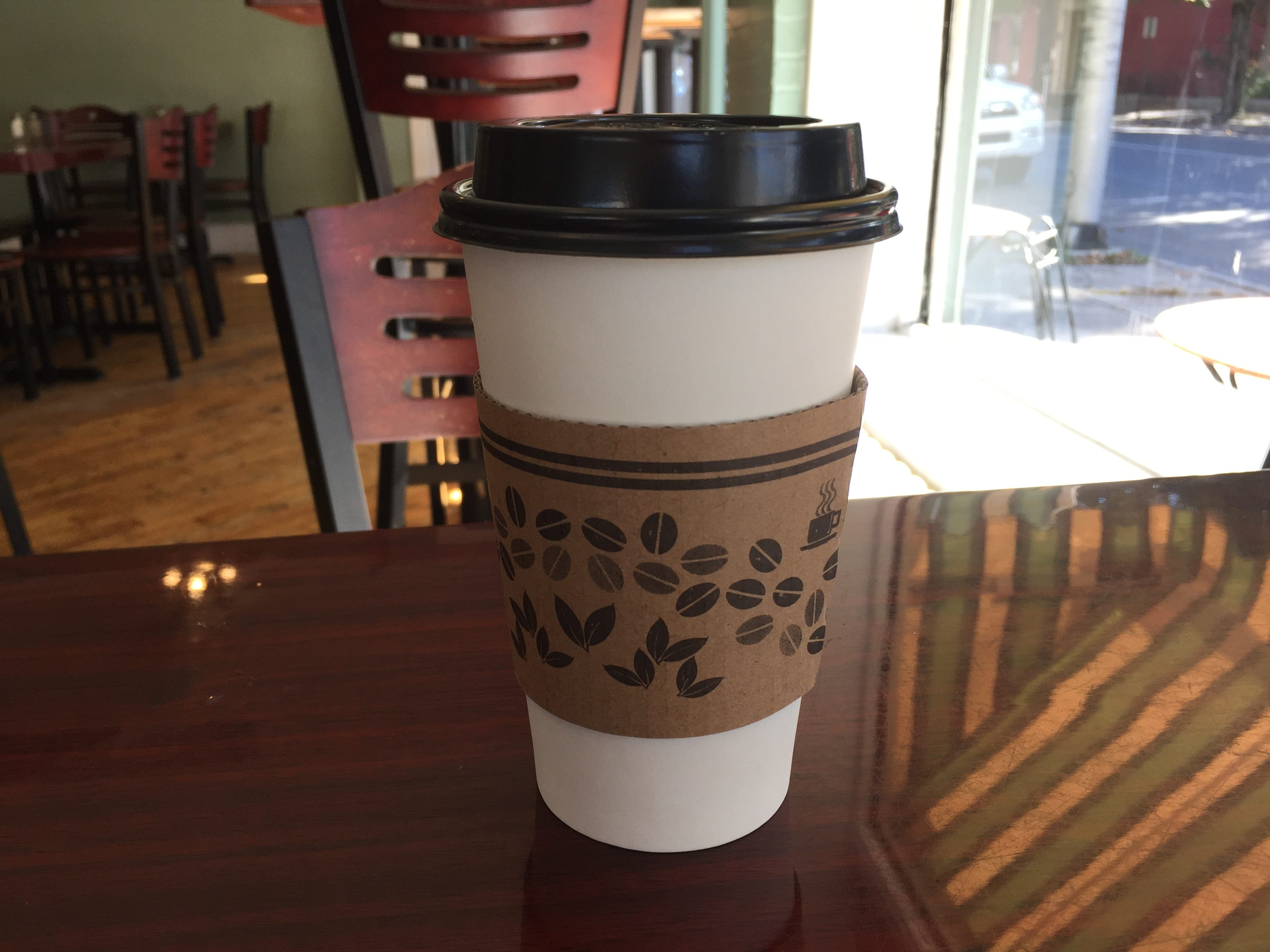 It seems like everybody does a coffee or latte, but All That has its own take on fall with a pumpkin spice chai that's out of this world. Pumpkin coffee and other seasonal flavors also available.