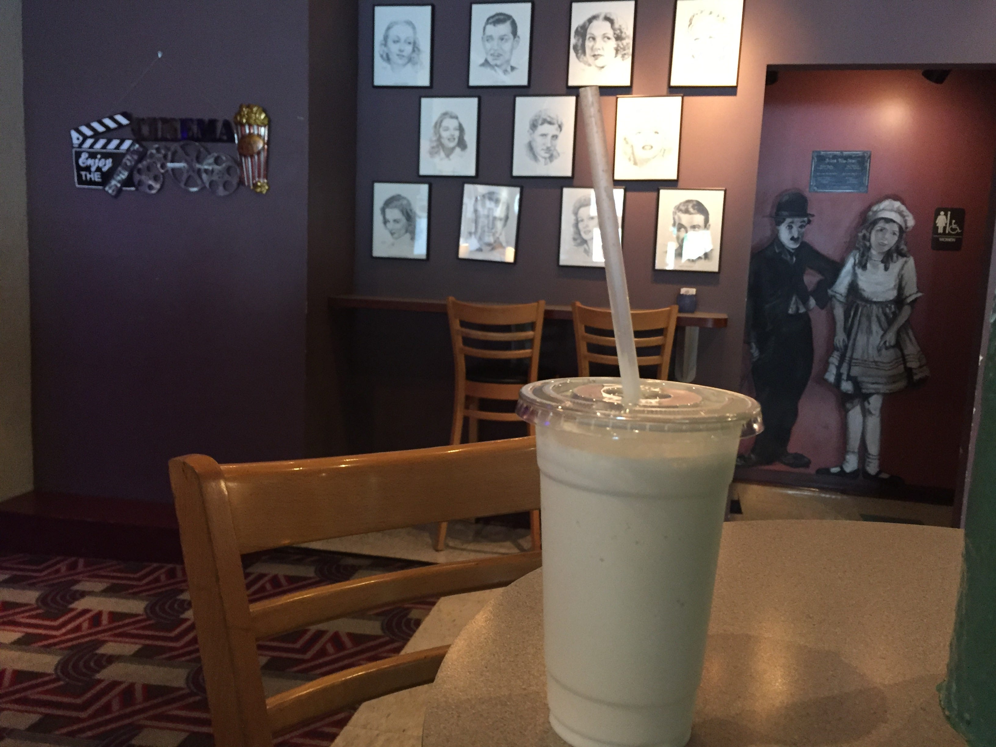 For a truly unique take on a fall beverage, you have to get to the Allen Theatre for a pumpkin spice milkshake, one of several new offerings from the recently renamed Backstage Café.