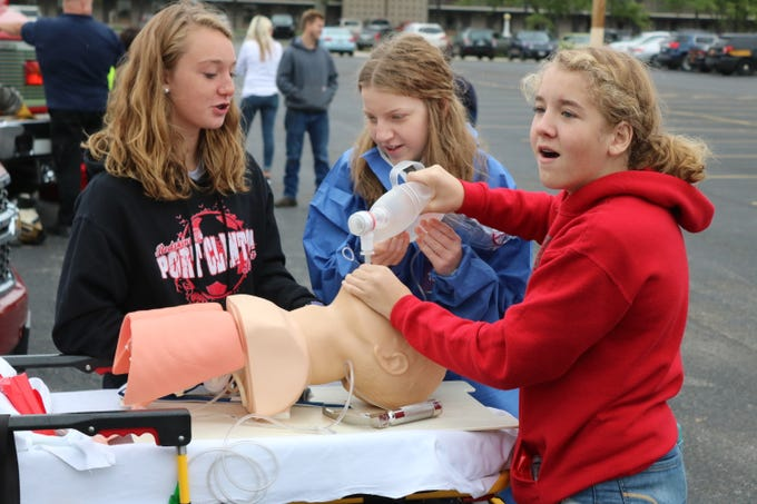 Essentially every freshman high school student in Ottawa County got some hands-on experience with potential future employers from their own backyards on Friday.