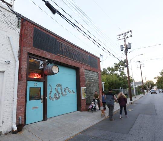 Dennings Point Distillery on Main Street in Beacon on October 5, 2018.