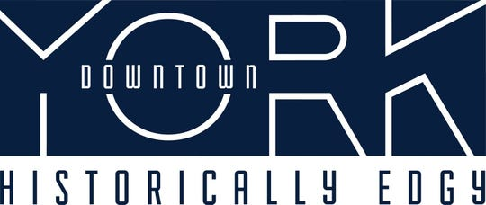 This is the new brand for downtown York. It will be used to market the area to locals and tourists.