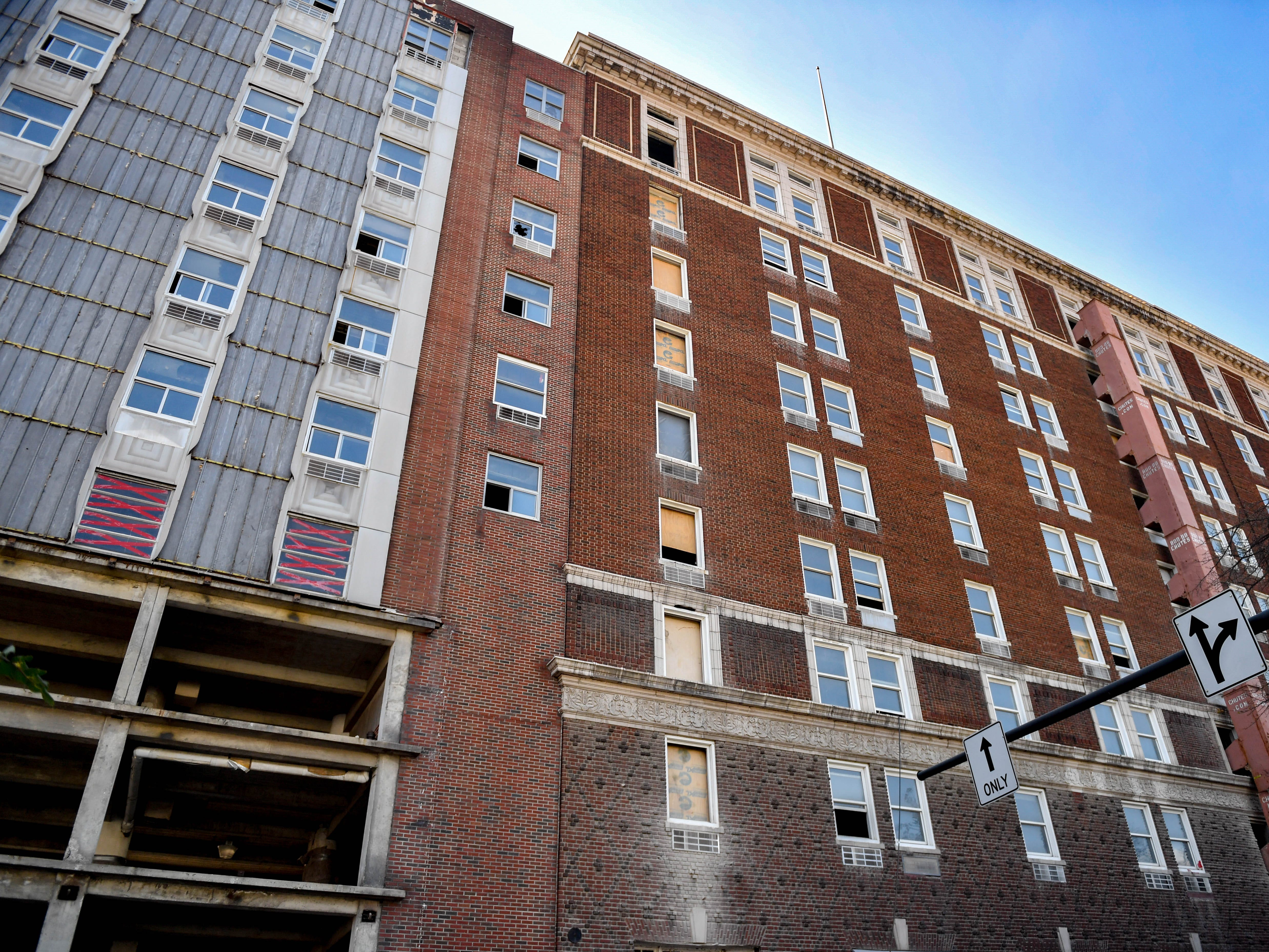 From the street it's easy to forget that the Yorktowne Hotel is going through major renovations on October 4, 2018.