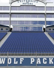 Mackay Stadium underwent an $11.5 million renovation before the 2016 season that included putting permanent chair-backs in several sections.