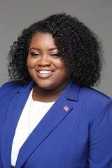 Brittaney Wells, newly elected chairwoman of the Monroe County Democratic Committee.