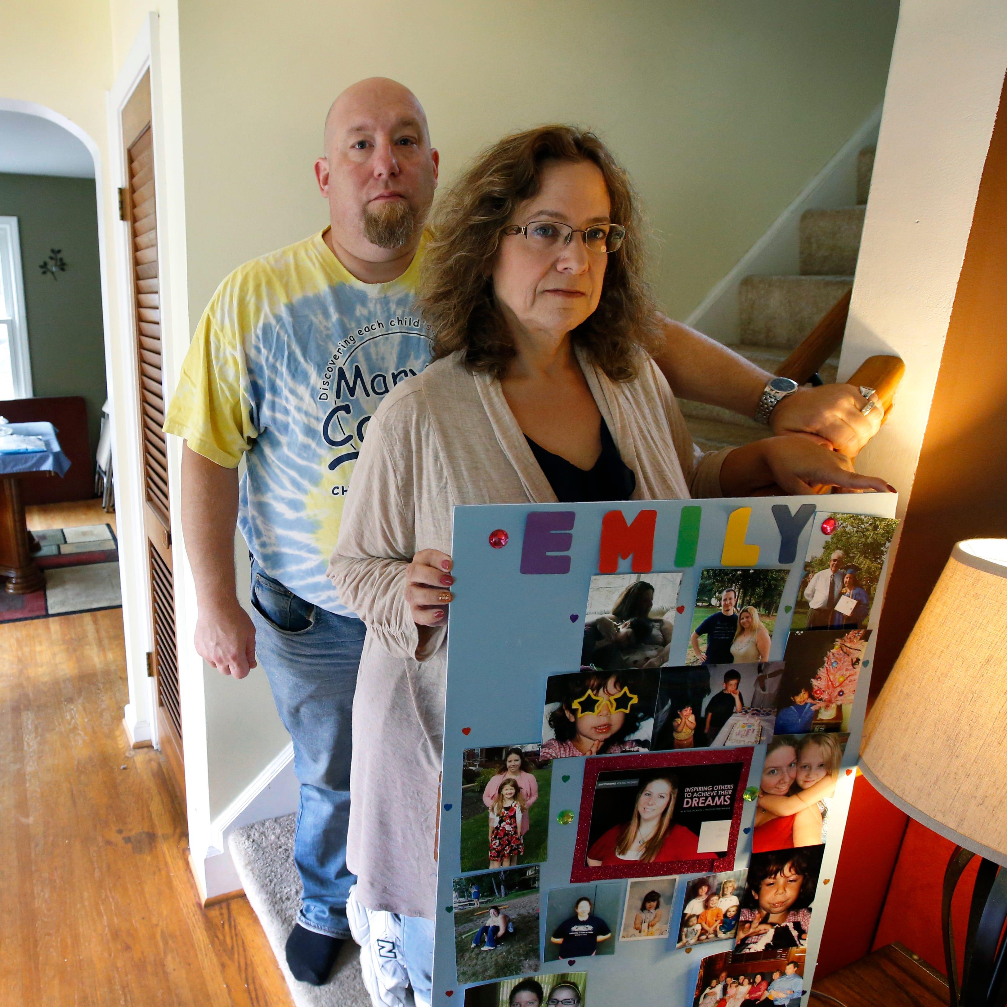 Tamara MacDuff with husband Jim at their...