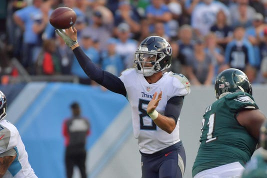 Nfl Philadelphia Eagles At Tennessee Titans