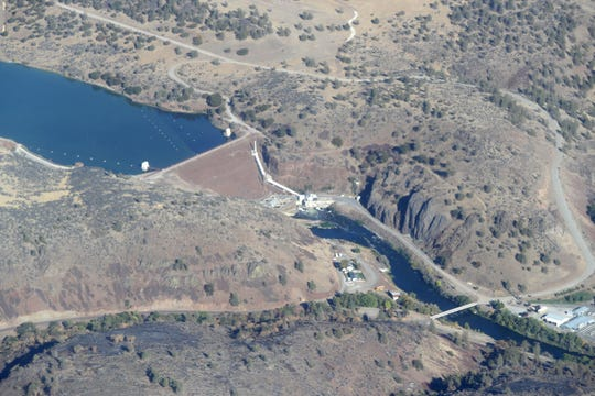 A proposal by the Klamath River Renewal Corp. calls for removing four dams on the Klamath River in Siskiyou County, including Irongate Dam.