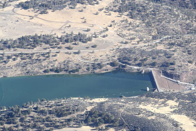The Klamath River Renewal Corp. is seeking approval to remove four dams on the Klamath River in Siskiyou County, including Irongate Dam.