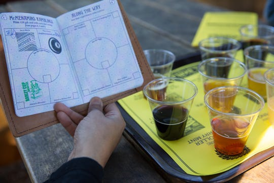 Grab a taster tray of spooky brews and get your McMenamins passport stamped on Widow's Day.
