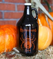 A growler of Black Widow Porter at McMenamins.