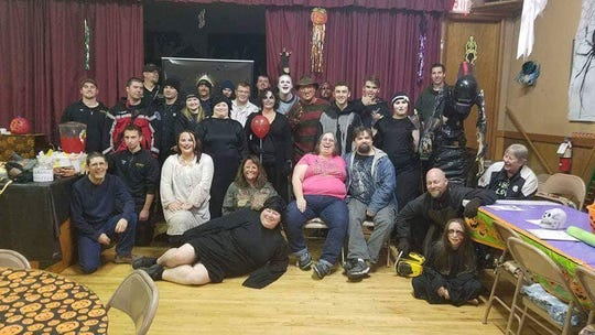 Haunted House at Morningstar Grange serves as a benefit for the Jefferson Fire Department, The Albany Cleaners and The Morningstar Grange.