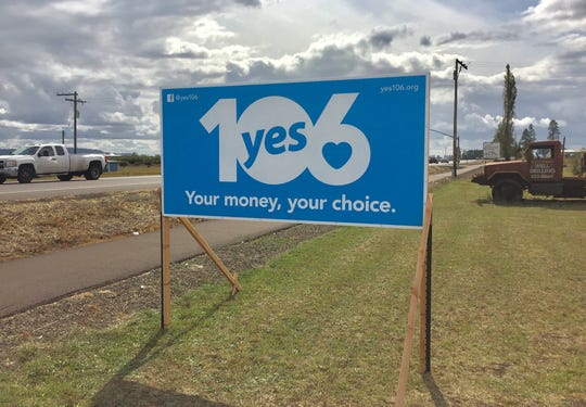 The 'Yes on Measure 106' campaign is urging voters to ban public funds from being used for abortion in Oregon.