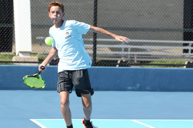 Richie Ramos and the San Angelo Central High School tennis team dropped to 12-6 on the season after a 17-2 loss at Abilene Wylie on Thursday.