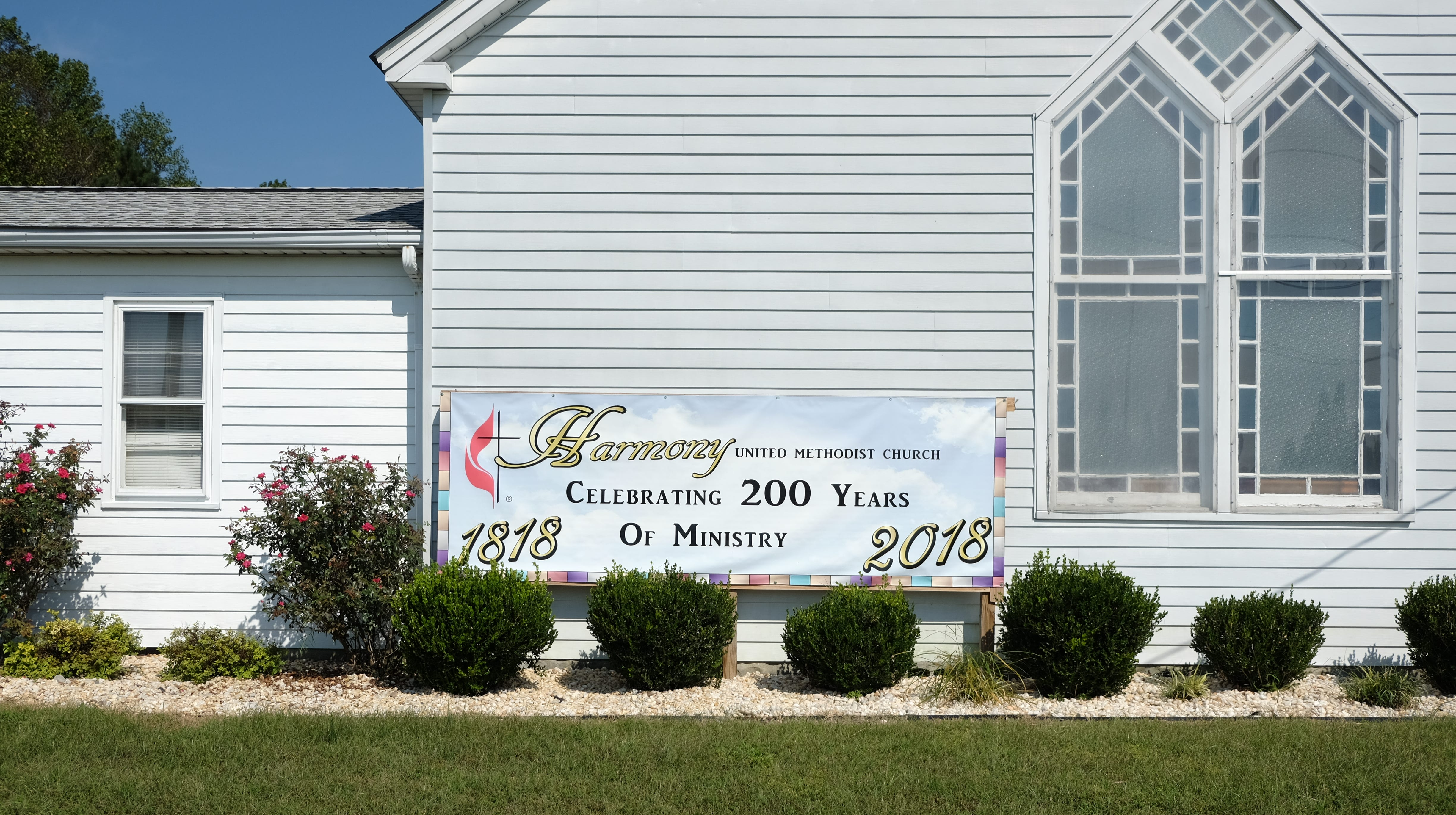 Harmony United Methodist Church in Millsboro is celebrating its 200th anniversary as a congregation on Oct. 14.