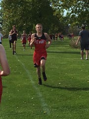Jacob Vogel won the overall individual championship at the Dakota Valley Conference meet on Oct. 3.