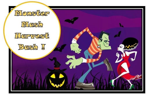 Join USA Dance Chapter 2044 for a Monster Mash Harvest Bash on Oct. 12.
