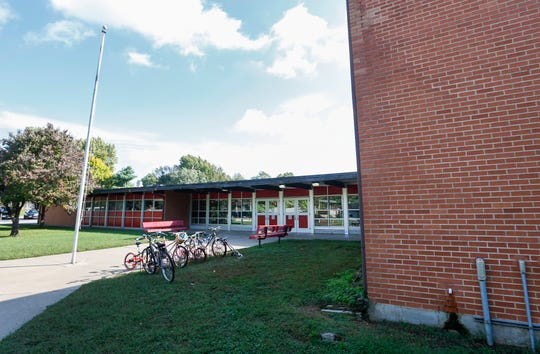"""Pershing Middle School is one of 12 Springfield schools singled out on the state's """"target"""" improvement list."""