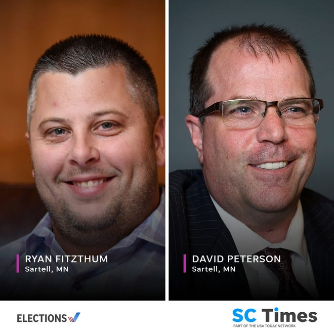 2018 candidates for Sartell mayor.
