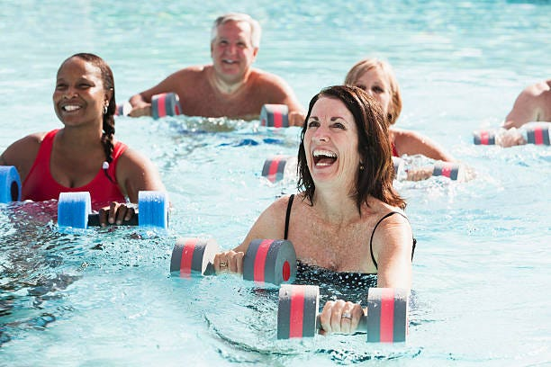The hours for water aerobics classes at SUU are changing.