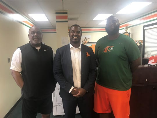 Billy Rolle, Willie Simmons and Alex Jackson grew up attending FAMU homecoming on an annual basis. This weekend, they'll coach in the big game for the first time.