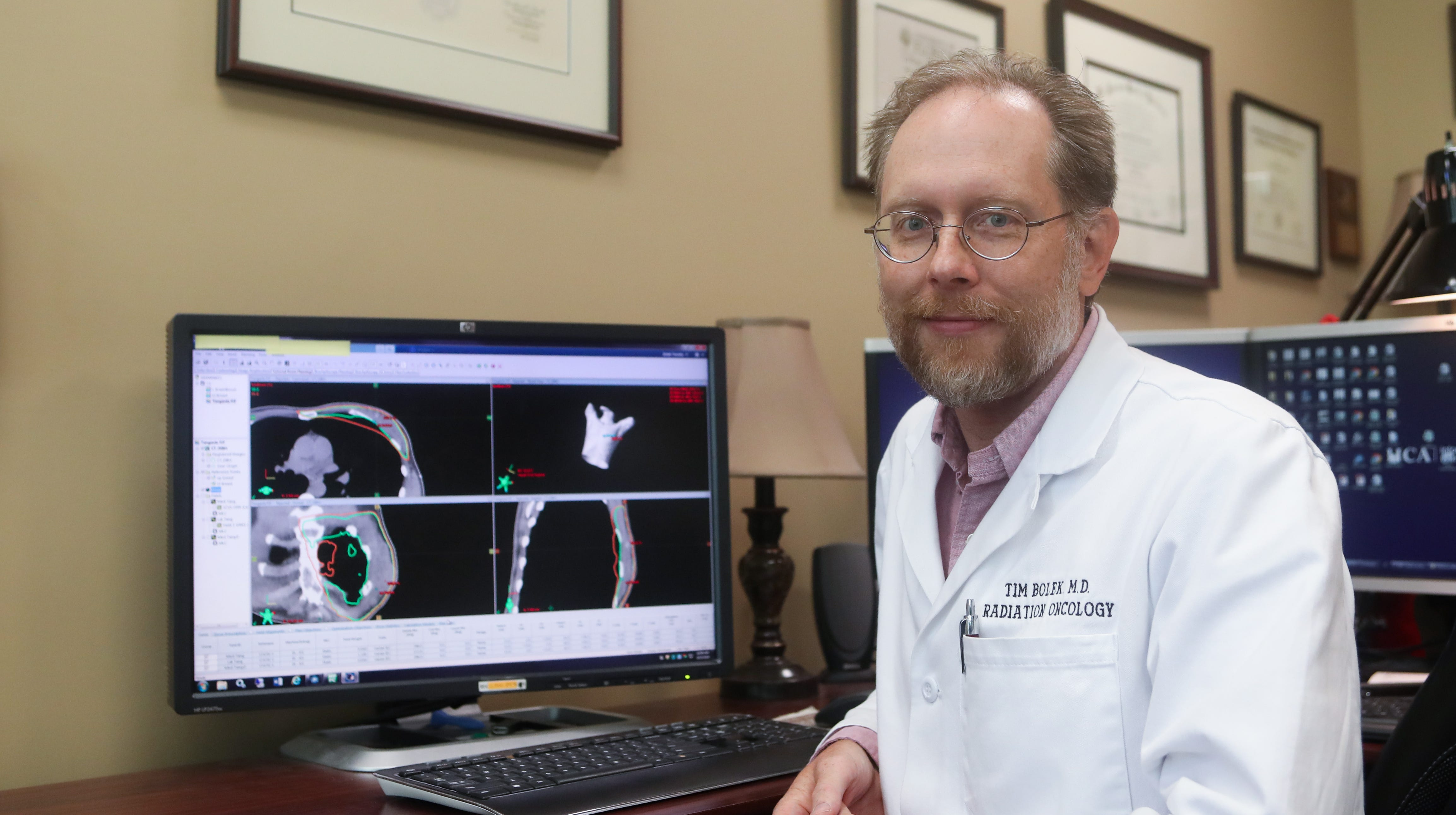 Breast cancer treatment pairs technology with trust