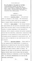 This is the first page of Florida's Constitution, 1968 revision.