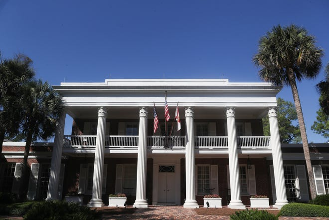 Florida taxpayers spent just over $4.3 million in one year to protect the occupants of the governor's mansion and various visiting dignitaries.