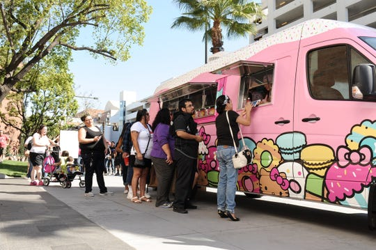 The Hello Kitty Truck rolls into El Paso Oct. 13.
