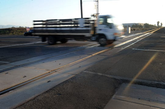 The morning commute on Rice Avenue and East Fifth Street in Oxnard. If passed by voters on Nov. 6, Proposition 6 would repeal SB1, the Road Repair and Accountability Act. That repeal would deprive Ventura County of millions of dollars for transit projects, including a long-planned bridge that would lift Rice Avenue over railroad tracks near East Fifth Street, site of a 2015 deadly train vs. truck collision. Proposition 6 backers say Californians are over-taxed.